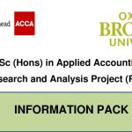 OBU RAP information pack 2020 and 2021